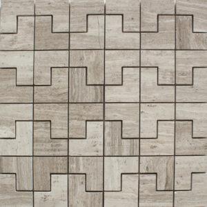 Aspen White H pattern
