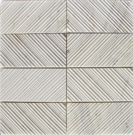 Rainier White 3x6 texture
