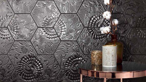 Shapes Lux black room